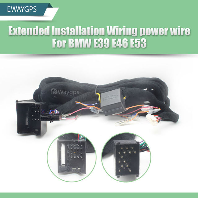 17pin 40pin ewaygps extended installation wiring power wire for rh aliexpress com BMW E46 M3 BMW E30