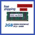 Brand New Sealed Sodimm DDR2 800 МГц 2 ГБ PC 6400 800 МГц 2 ГБ 200pin для Ноутбука Память RAM/Пожизненная гарантия/Бесплатная Доставка!