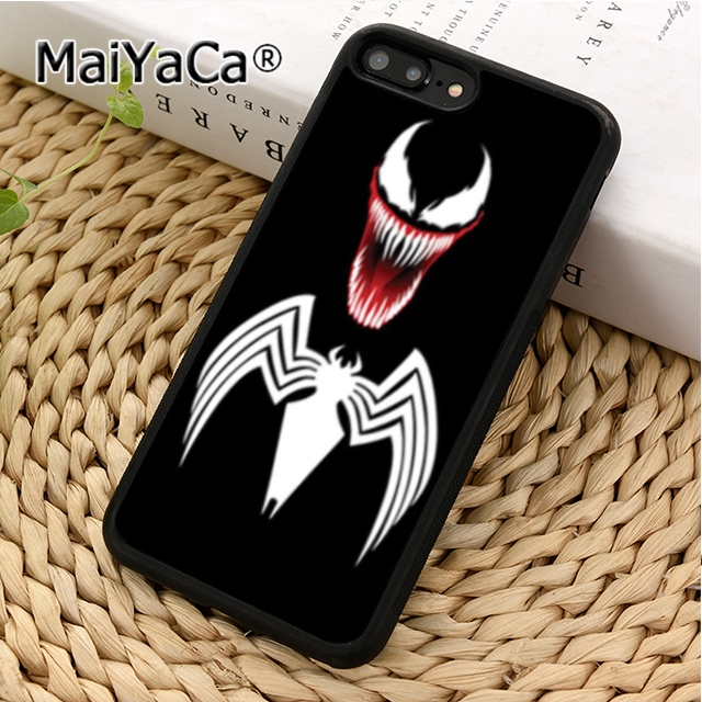 MaiYaCa Marvel Comics Spider Man Venom Phone Case Cover For iPhone 5 5s SE 6 6s 7 8 X XR XS max Samsung Galaxy S6 S7 S8 S9 plus