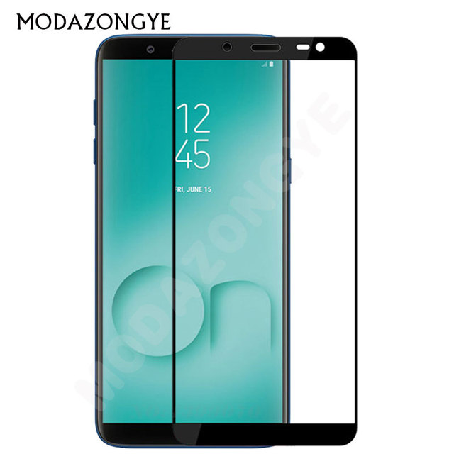 a53699fc755 For Samsung Galaxy On8 2018 Tempered Glass For Samsung On8 2018 J810G SM-J810GF DS  J810 Screen Protector Full Cover Glass Film