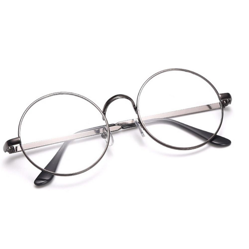 4ccd11de87c34 Das Mulheres Dos Homens do vintage Retro Rodada óculos de Armação de Lente  Clara Óculos Unisex Óculos Óculos de Lente Clara Nerd Óculos óculos de Sol