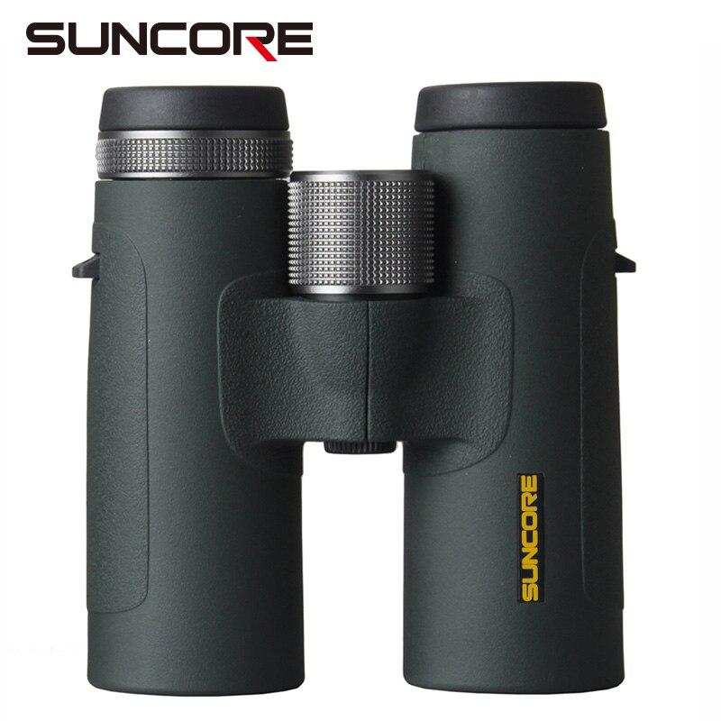 SUNCORE 17 God eye ED10X42 / 8x42 green high quality waterproof optical binocular telescope outdoor travel observation mirror недорого