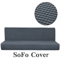 Solid Tight Thicken Fleece Sofa Cover for Living Room Anti slip Universal Slipcover Stretch Couch Cover on The Corner Fold Sofa