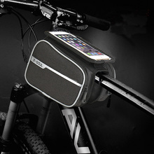 Bicycle Bag Waterproof Bike Front Tube Phone Bags Large Capacity Touch screen 4.7-6.2 inch Accessories