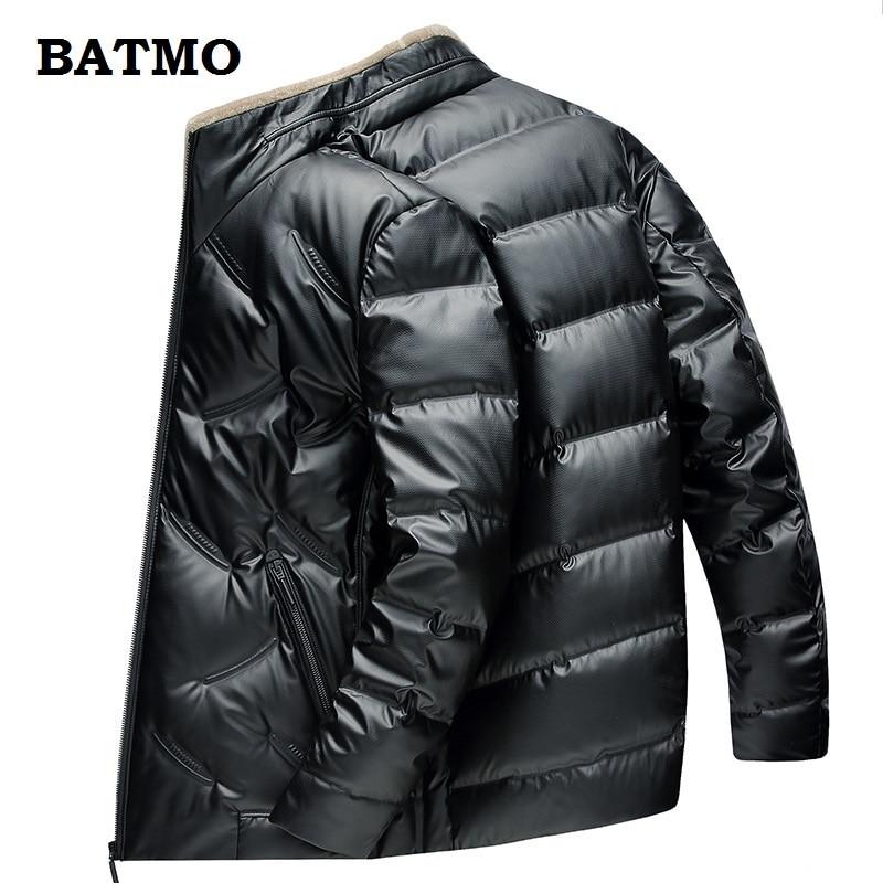 BATMO 2019 新到着秋冬 90% ホワイトダックダウン防水ジャケット、男性の冬暖かいパーカー、プラスサイズ M 4XL  グループ上の メンズ服 からの ダウンジャケット の中 1