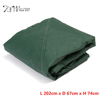 KiWarm Top Quality Waterproof Outdoor Garden Furniture Set Cover Patio Table Chair Furniture Rain Protcet Cover