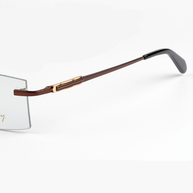 2016 Nueva Marca de moda de Gafas sin montura Marco de Anteojos mujeres de Los Hombres Con la Caja Original Gafas de grau envío libre