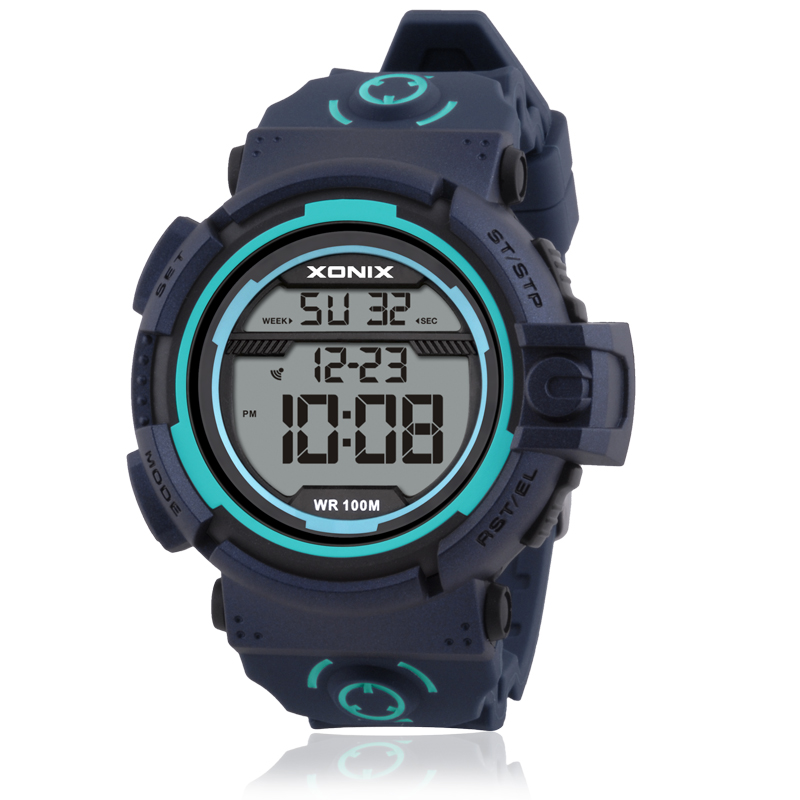 TOP Men Sports Watches Waterproof 100m Outdoor Fun Multifunction 2018 NEW Digital Swimming Diving Wristwatch Male Montre Homme