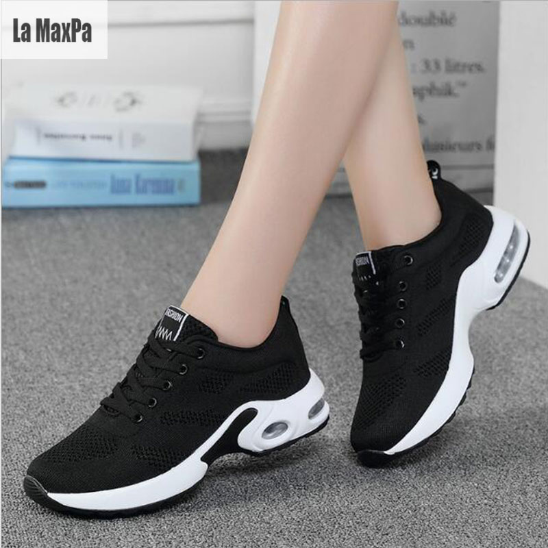 Women Running Sports Shoes Sneakers 2018 SPring /Summer Breathable Mesh trainers women S ...