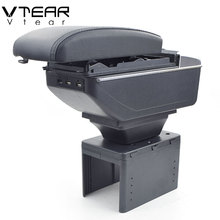 Vtear For Mitsubishi Space Armrest Interior Center Console Storage Box Arm Rest Car Styling Decoration Accessories Parts 2005