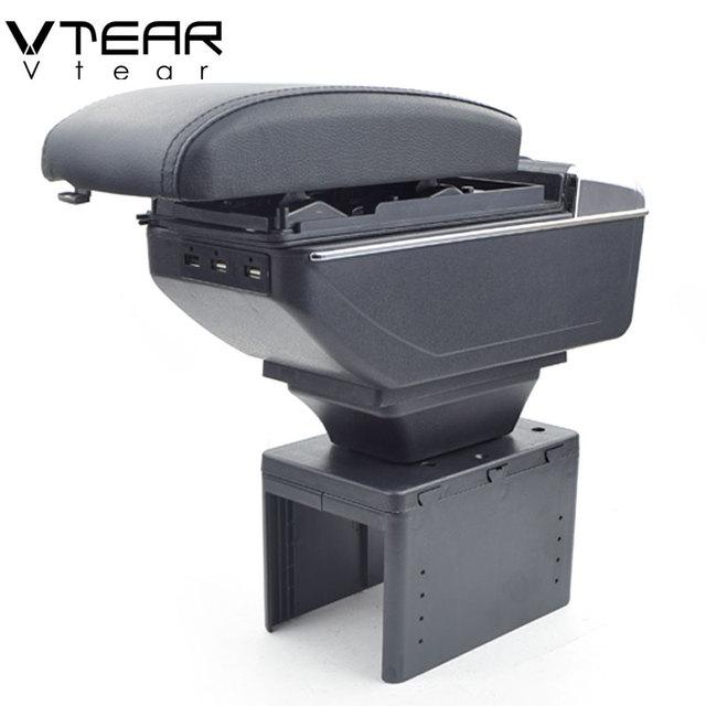 VtearสำหรับMitsubishi Spaceแขนภายในคอนโซลกลางกล่องแขนรถ จัดแต่งทรงผมอุปกรณ์ตกแต่งชิ้นส่วน2005