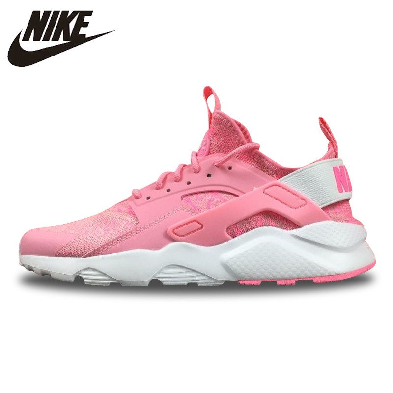promo code e6b80 df964 Original New Arrival Official Nike Air Huarache Run Ultra Women's Snowflake  Peach Color Running Shoes Sneakers 753889-999 36-40 | ...