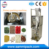 SMFZ 70A 3 side seal rotary automatic packing machine 2g to 100g with spare parts, ship by special line free shipping