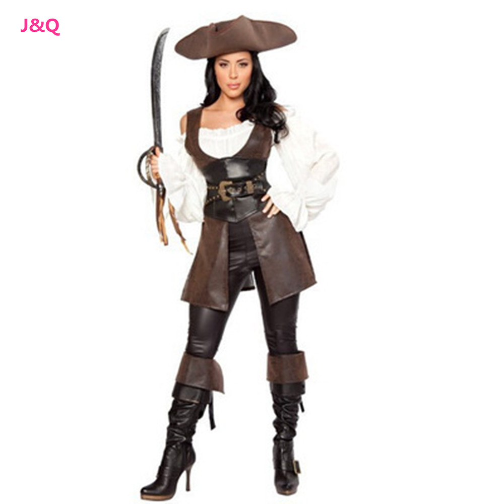 sexy female halloween role play pirates costumes disfraces masquerade pirate leather costume. Black Bedroom Furniture Sets. Home Design Ideas