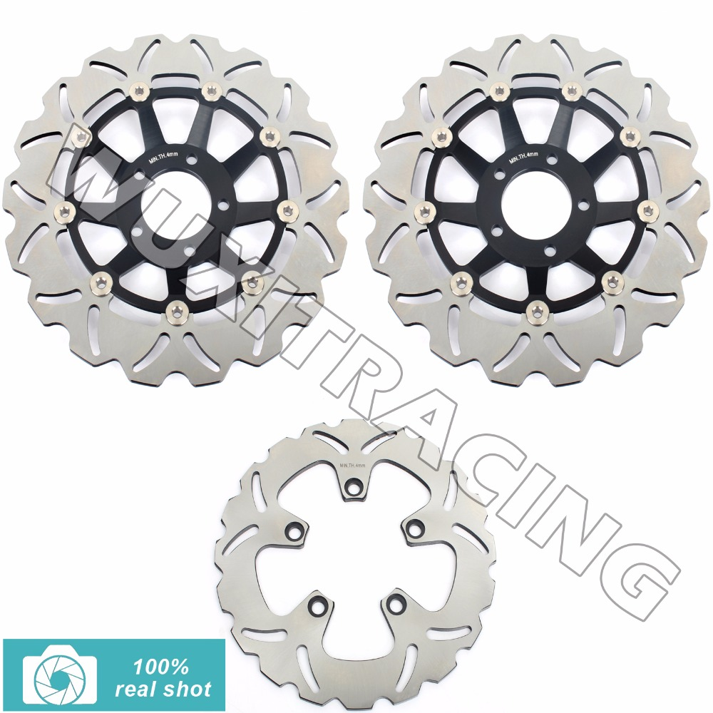 88 89 90 91 92 93 94 95 96 97 98 99 00 Full Set Front Rear Brake Discs Rotors for SUZUKI GSX R 750 1100 GSXR750 GSXR1100 88-00 94 95 96 97 98 99 00 01 02 03 04 05 06 new 300mm front 280mm rear brake discs disks rotor fit for kawasaki gtr 1000 zg1000