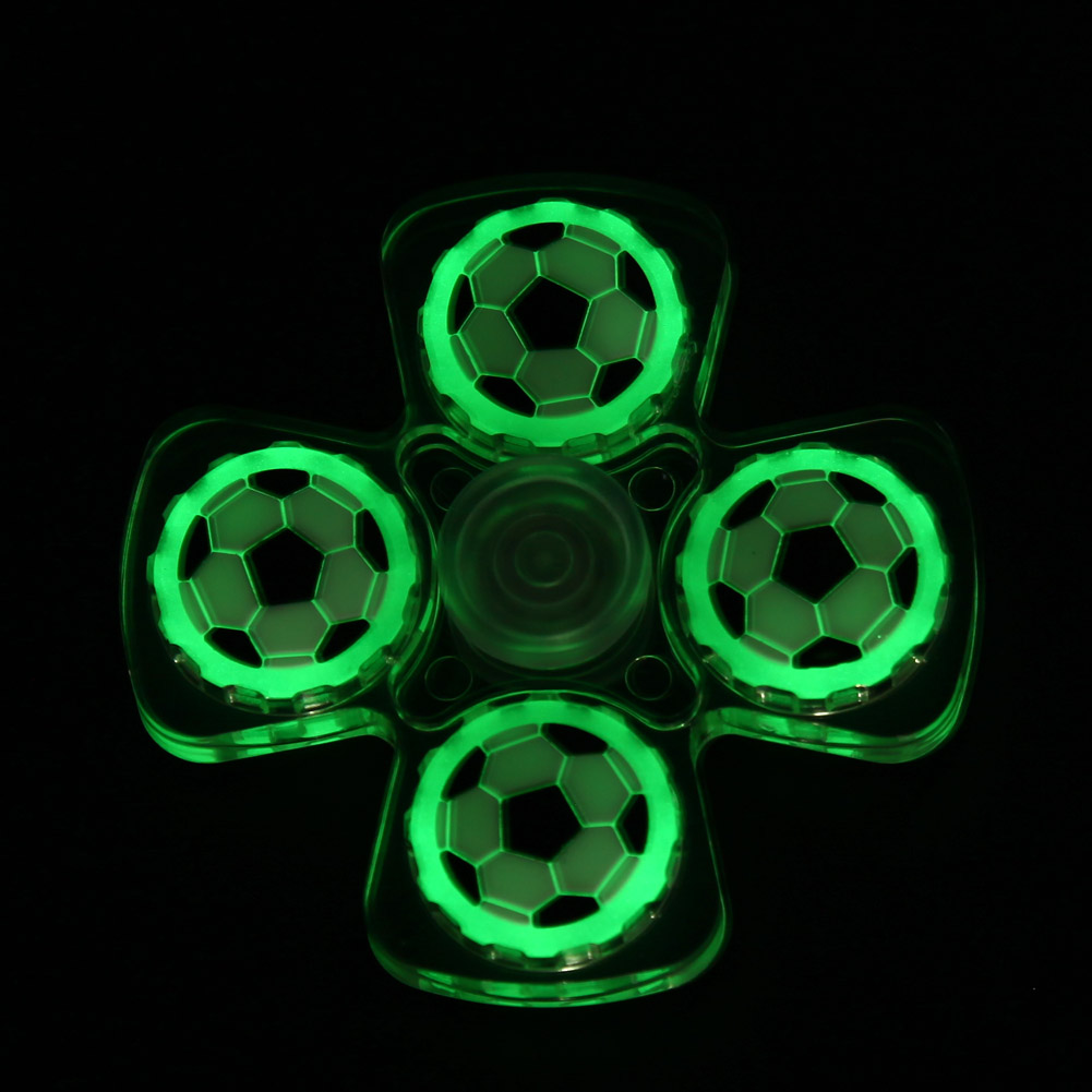 Luminous Fidget Spinner Fast Rotation EDC Hand Spinner for Autism ADHD Anxiety...