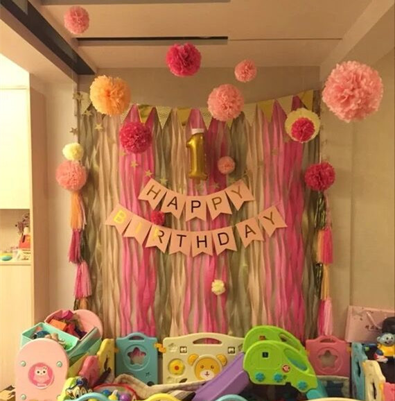 10pcslot 15cm paper garland tissue paper flowers birthday party 10pcslot 15cm paper garland tissue paper flowers birthday party supplies wedding decoration baby shower girl pink paper balls in artificial dried flowers junglespirit Choice Image