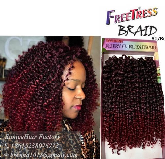 Synthetic braiding hair deep wave twist crochet braids ...