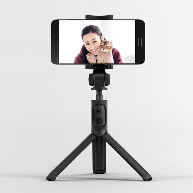 Original Xiaomi Mi Tripod Selfie Stick Bluetooth 3.0 Remote 360 Rotation Lightweight Foldable For Smart Phone Android 4.3