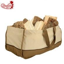 Kahi 600D Экстра большая сумка для переноски дров тоут Прочный Контейнер для дров камин деревянные аксессуары для плит сумка для хранения