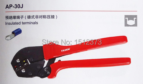 1 Piece/lot AP-30J New generation of energy saving crimping pliers For insulated terminals  цены