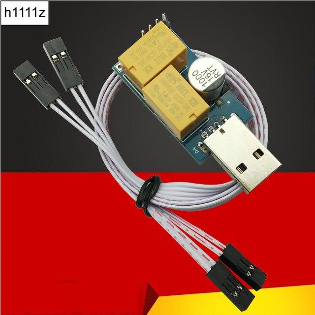 USB Cơ Quan Giám Sát Hẹn Giờ Thẻ Mô-đun Tự Động Khởi Động Lại IP Đồng Hồ Điện Tử con chó 2 Hẹn Giờ Khởi Động Lại Lan Cho Khai Thác Mỏ Máy Tính Chơi Game PC