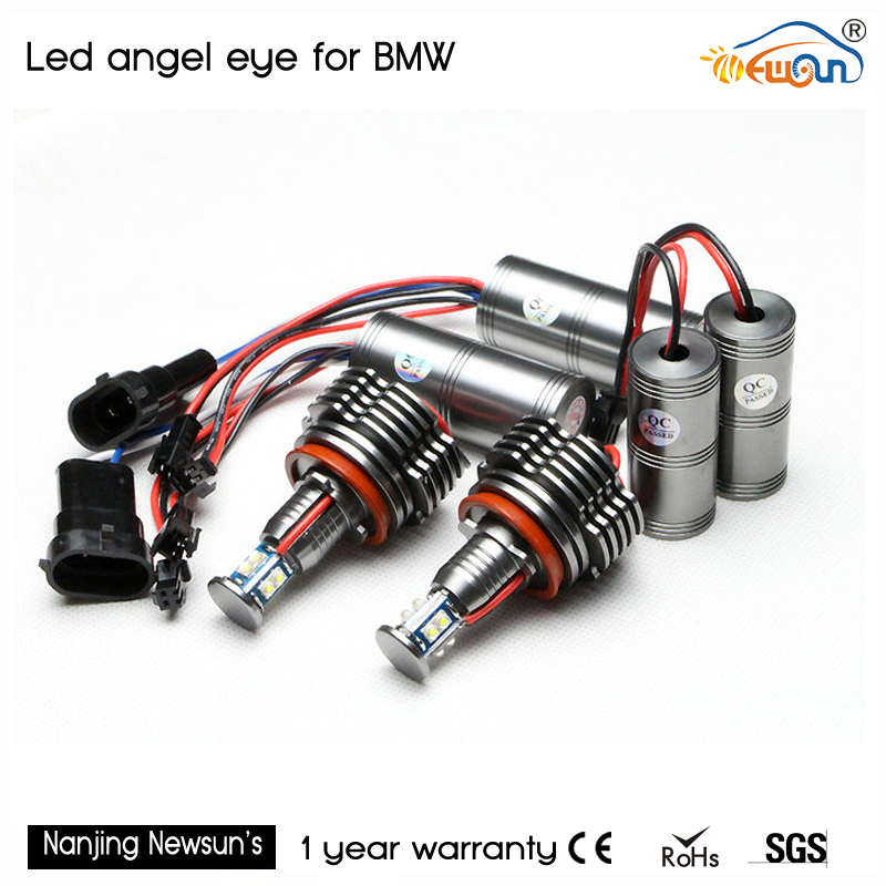 2 pair LED Angel Eyes bulb H8 40W Cree Chips LED Marker for BMW E70 E71 E92 E93 E82 E90 X5 X6 headlight auto lamp h8 20w cree angel eyes led marker light drl for bmw e82 e87 e90 e91 e92 m3 e93 e60 e61 e63 e64 e70 x5 e71 x6 e89 z4 king deluxe