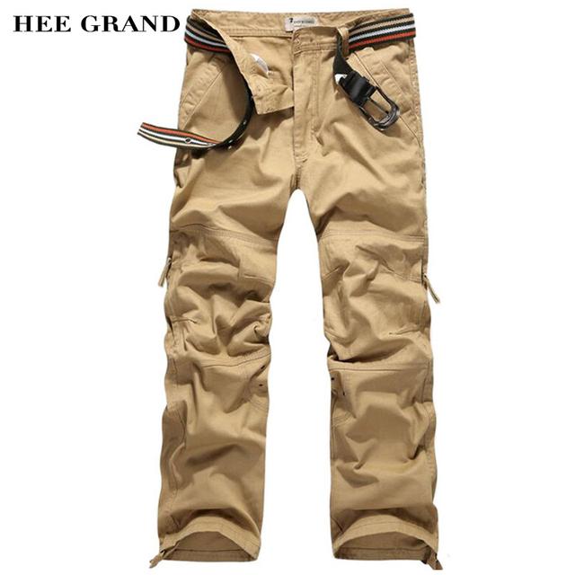 Pantalones de Los Hombres Sin Cinturón Venta Caliente hombres Encaja Pantalones Casuales Solid Loose estilo Moda Basculador Pantalones 30-40 Tamaño 4 Colores MKX675