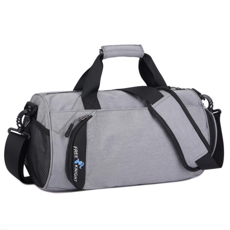 2018 Waterproof Shoulder Sport Gym Bag for Shoes Storage Women Fitness Yoga Training Bags Mens Gymnastic Handbag Crossbody