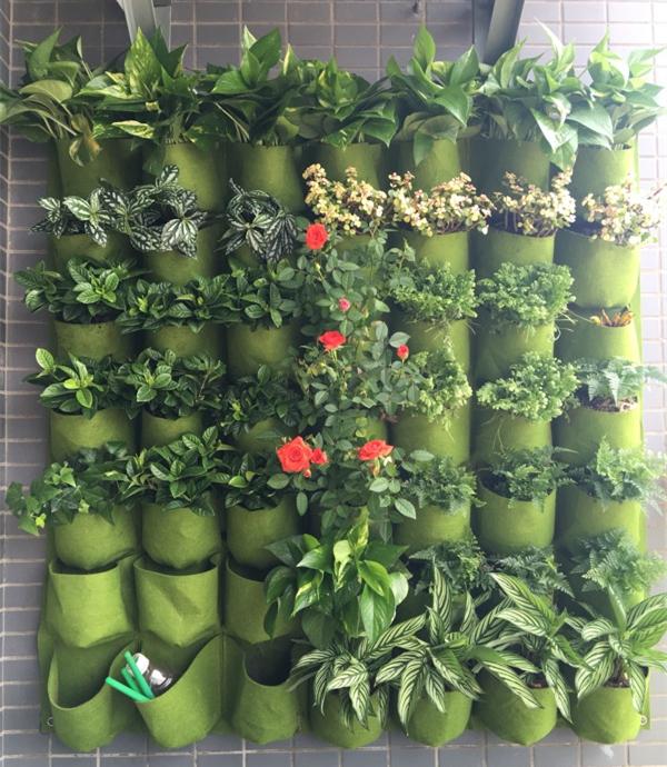 nueva colgando macetas de pared olla vertical jardn macetas y jardineras macetas colgantes maceta del
