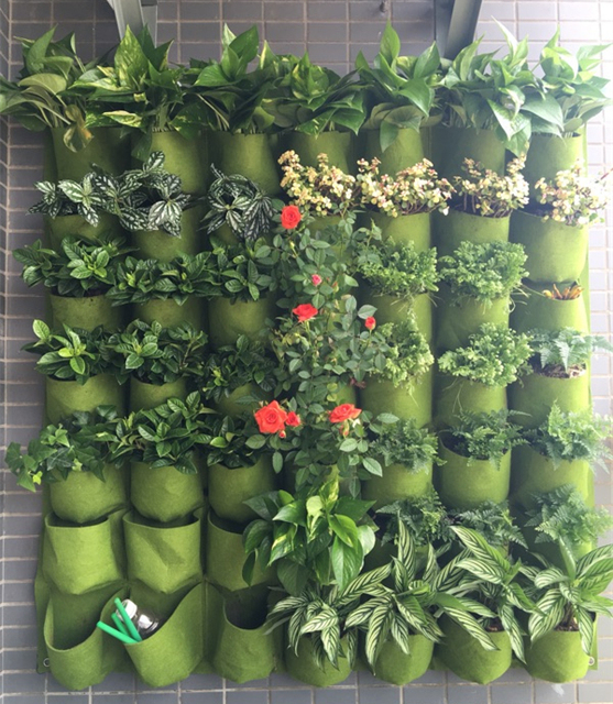 New Pocketgarden Hanging Plant Pots Wall Pot Vertical Garden Flower Pots  And Planter Hanging Pots Planter