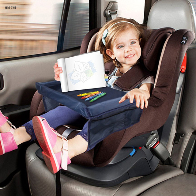 Free Ship Quality Waterproof Table Car Seat Tray Storage Kids Toys Infant Holder Seats For Children