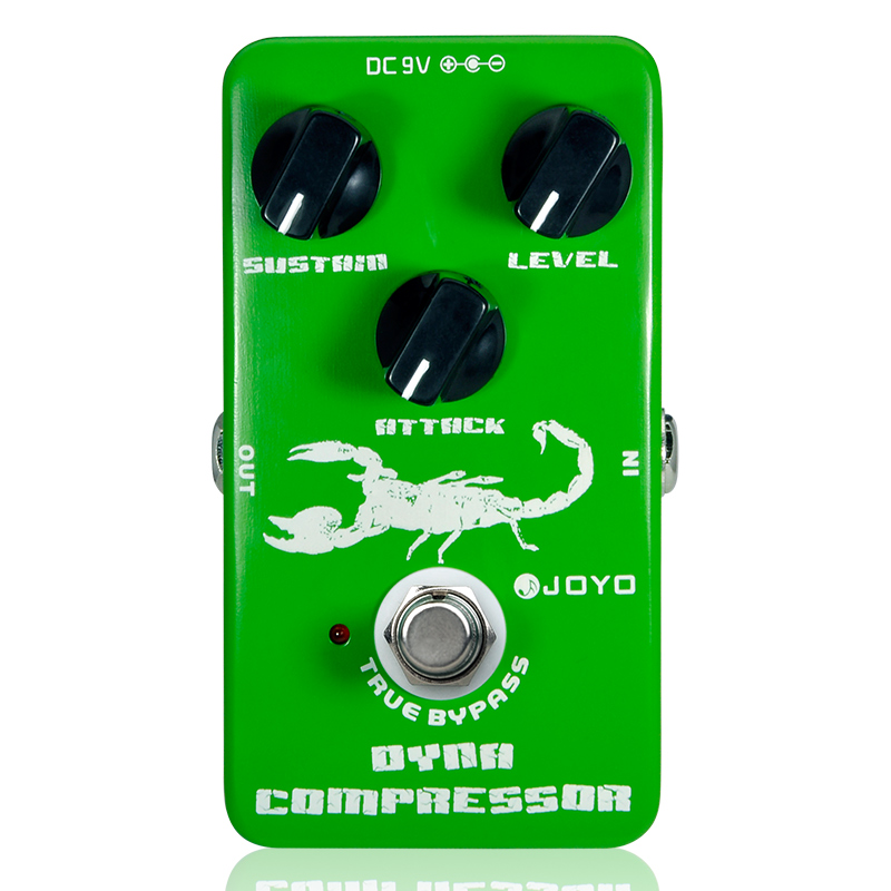Dynamic Compressor Guitar Effects Pedal reduce the redundant dynamic ensure balanced true bypass Joyo JF-10