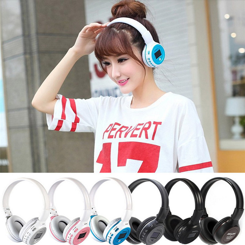 Zealot B570 Wireless Stereo HiFi Bluetooth Headphone Foldable Headset With Mic Support Micro-SD / FM Radio For iPhone hands free hifi stereo bluetooth 4 0 headset headphone with mp3 player micro sd fm radio function headhand headset for phone