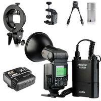 Godox 360W AD360II C E TTL Flash Speedlite + PB 960 Battery + Softbox For Canon