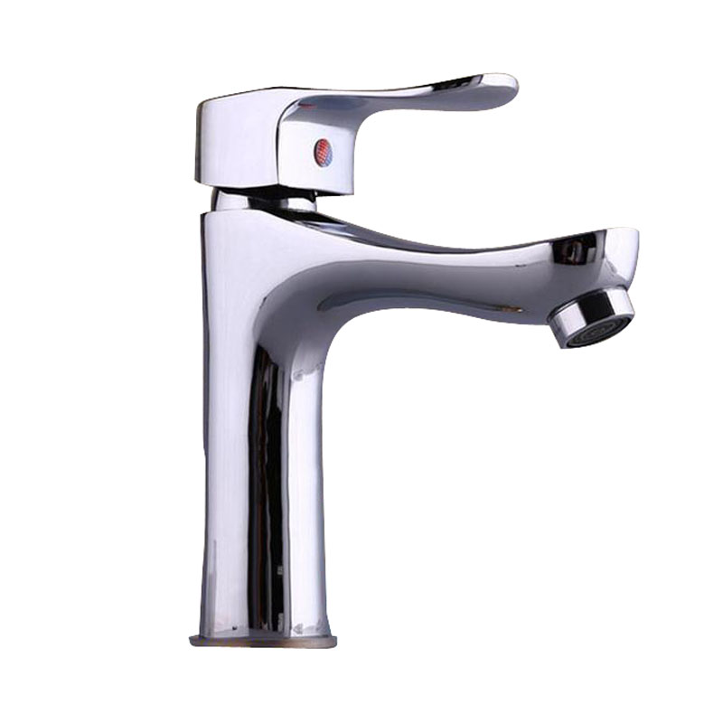 Bathroom basin faucets ingle hole basin hot and cold faucet kitchen valve wash basin tap Copper
