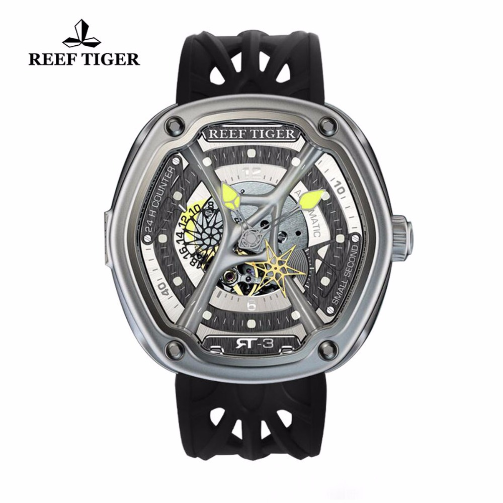 Automatic Watches Enjoy Your Live Style Dive Watch Luminous Nylon/Leather/Rubber Watches RGA90S7