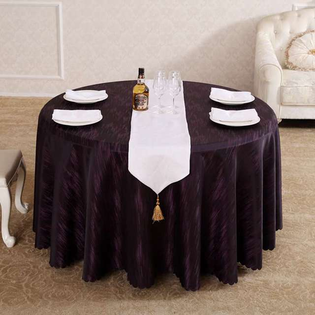 Etonnant Heavy Modern Fashion Purple Rain Round Rectangle Square Fancy Tablecloths  Hotel Dining Tablecloth Home Decor