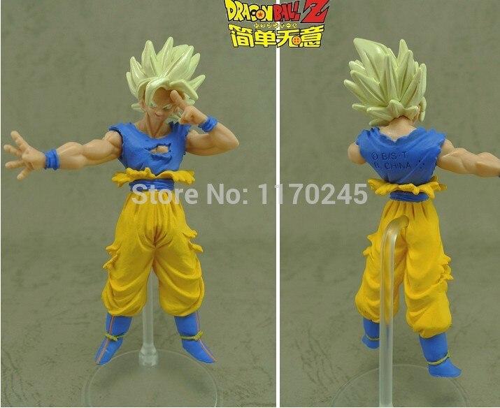Japan Anime DRAGONBALL Dragon Ball Z/Kai Original BANDAI Gashapon PVC Toys Action Figures PART19 Goku Super Saiyan