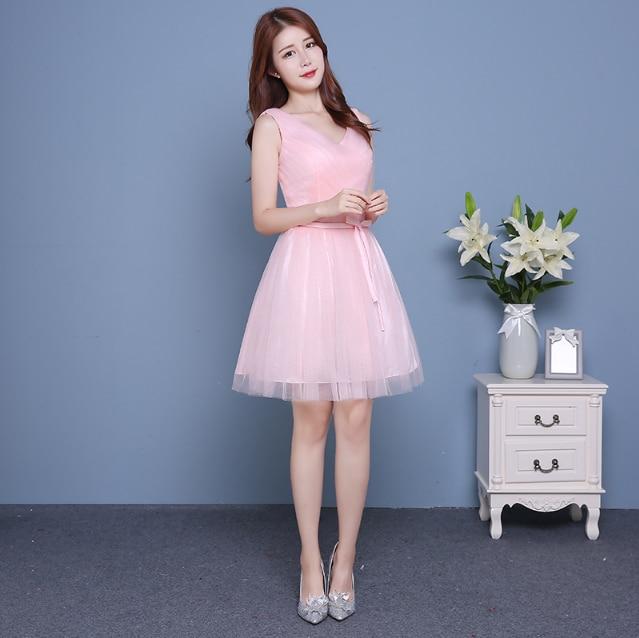 97471ab79b8f classy modern bridesmaid girl formal party knee length dress bridemaids  teen beautiful dresses china for teens weddings H3872