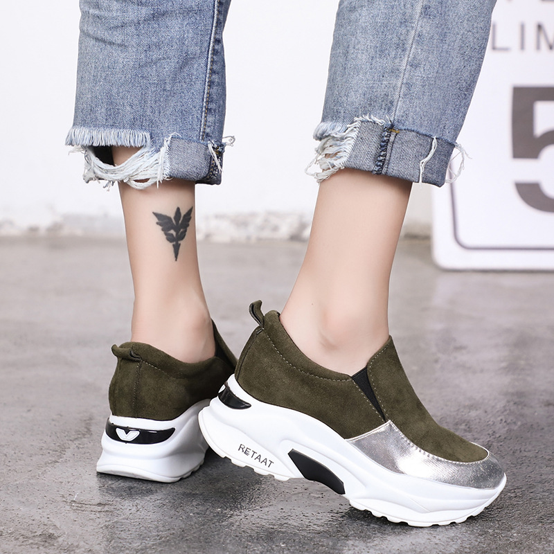 DORATASIA New Height Increasing Mixed Colors Round Toe Flat Platform Shoes Woman Casual Soft Spring Autumn Flats Big Size 35-40 3