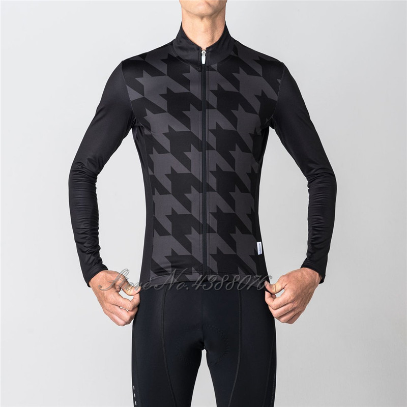 Detail Feedback Questions about 2018 Custom pdp long sleeve jersey black  Winter thermal fleece warm jacket cycling Italy race Climbing team bicycle  ... 2108940c4