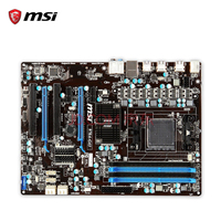 MSI 970A-G43 Original Used Desktop Motherboard 970 Socket AM3+ DDR3 32G STAT3 USB3.0 ATX On Sale
