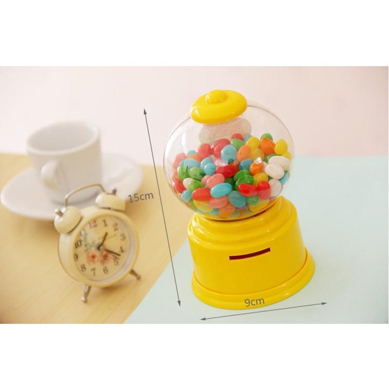 사탕 기계 장난감 상자 아기 장난감 돼지 저금통 - 역할연기 - 사진 2
