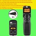 Pixel de pavo real tw-283 e3 timer control remoto inalámbrico para canon 700d 100D 600D 650D 60D 70D 550D 1100D 1200D 750D Disparador