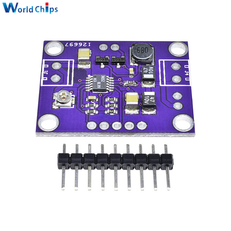 Lt3652 Solar Power Battery Charger Board 2a Battery Power Bank Balancer Charging Extension Board Module High Precision Electronic Components & Supplies