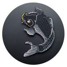 KKWL поставка нашивка с вышивкой для одежды классическая Вышивка кальмаров DIY украшения
