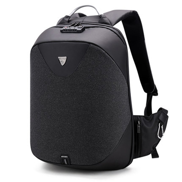 d9ab70a30000 Loodial Backpack male USB Charge Backpacks For men Waterproof Travel laptop  anti theft backpacks