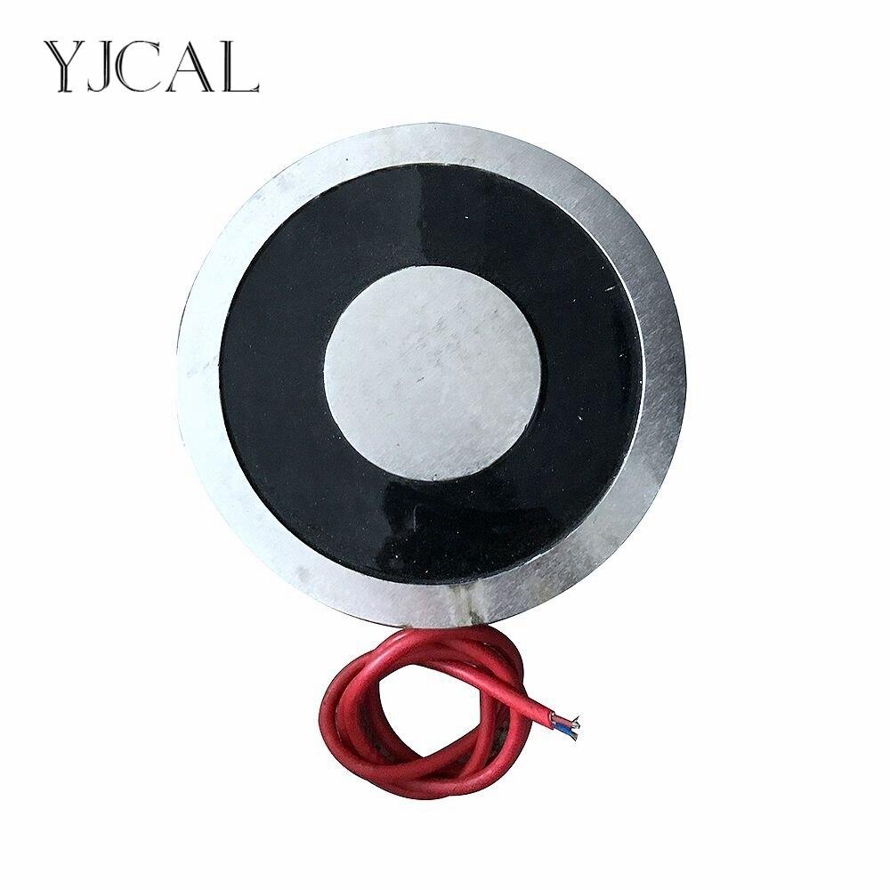YJ 500/150 Холдинг Электрический присоски Электромагнит магнит DC 12 В 24 В всасывающая чашка цилиндрический подъема 10000 кг всасывающий плиты Кита