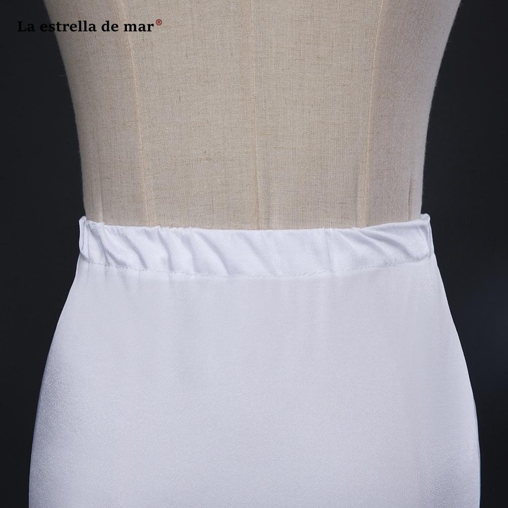 La Estrella De Mar Jupon Mariage New Tulle Sexy Mermaid Enaguas Para El Vestido De Boda Long Underskirt High Quality Petticoat Wedding Accessories
